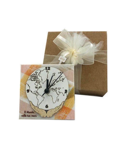 orologio il mondo nelle tue mani confezione